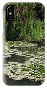 Lily Pads Monets Garden IPhone Case