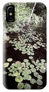 Lily Pads On Dark Water IPhone Case