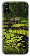 Lily Pads On Lake IPhone Case