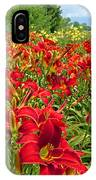 Lily Patch IPhone Case