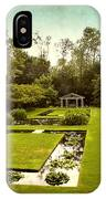 Lily Pond Garden IPhone Case