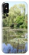 Lily Pond - Monets Garden - France IPhone Case