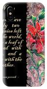 Lily Quote IPhone Case