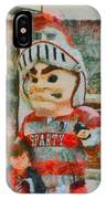 Lima Senior Mascot IPhone Case