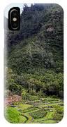 Limahuli Taro Fields In Kauai IPhone Case
