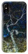 Limned Desert Tree IPhone Case