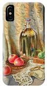 Lime And Apples Still Life IPhone Case