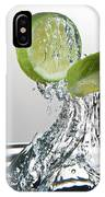 Lime Freshsplash IPhone Case