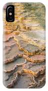 Limestone Terraces Yellowstone National Park IPhone Case