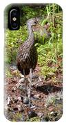Limpkin And Apple Snails IPhone Case