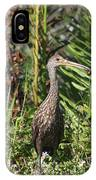 Limpkin With An Apple Snail IPhone Case
