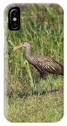 Limpkin With Apple Snail IPhone Case