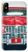 Lincoln In Red IPhone Case