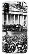 Lincoln Inauguration, 1861 IPhone Case