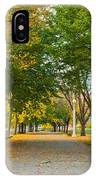 Lincoln Park In Fall IPhone Case
