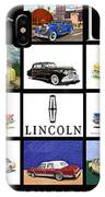 Poster Of Lincoln Cars IPhone Case