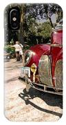 Lincoln Zephyr IPhone Case