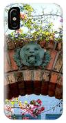 Lion Arch With Flowers IPhone Case