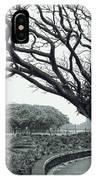 Lion Dog And Tree - Liliuokalani Park - Hawaii IPhone Case