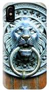 Lion Door Knocker In Norway IPhone Case