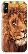 Lion Of Judah - Menorah IPhone Case
