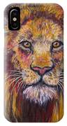 Lion Stare IPhone Case