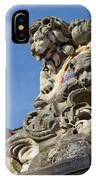 Lion Statue In Bruges IPhone Case