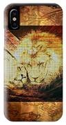 Lion Tapestry - Soulmates IPhone Case
