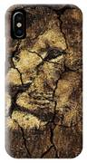 Lion -wall Art IPhone Case