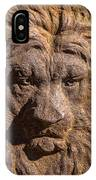 Lion Wall IPhone Case