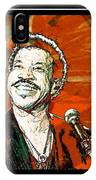 Lionel In Red IPhone Case