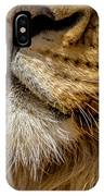 Lions Mouth 2 IPhone Case