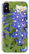 Lipinus Texensis Blue IPhone Case