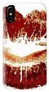 Lips Of Passion IPhone Case
