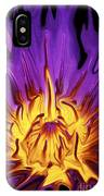 Liqufied Water Lily IPhone Case