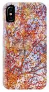 Liquidambar Square Abstract IPhone Case