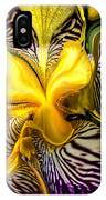 Liquified Orchid IPhone Case