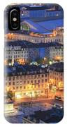 Lisbon At Night Portugal IPhone Case