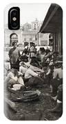 Lisbon Fish Market, C1911 IPhone Case