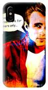 Listen To James IPhone Case