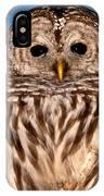 Lit Up Owl IPhone Case