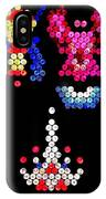 Lite Brite - Galaga IPhone Case