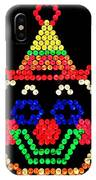 Lite Brite - The Classic Clown IPhone Case