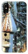 Little Birdhouse In The Woods IPhone Case
