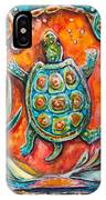 Little Brother Turtle II IPhone Case