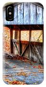 Little Covered Bridge II IPhone Case