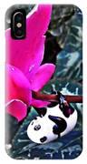 Little Glass Pandas 78 IPhone Case