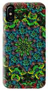 Little Green Men Kaleidoscope IPhone Case