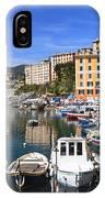 little harbor in Camogli IPhone Case