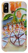 Little Harvest Wagon IPhone Case